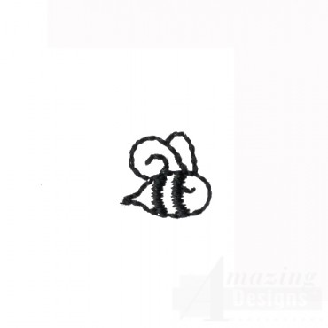 Honey Bee Doodle Embroidery Design