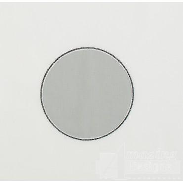 Circle Reverse Applique Embroidery Design