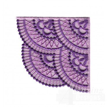Lace415 Fashionable Lace Embroidery Design