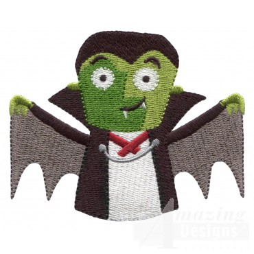 Dracula  Grave Situation Embroidery Design