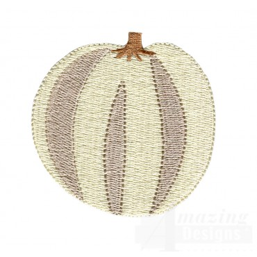 Pumpkin Grave Situation Embroidery Design