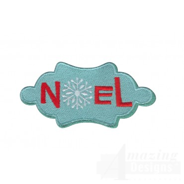 Noel A Very Merry Christmas Embroidery Design