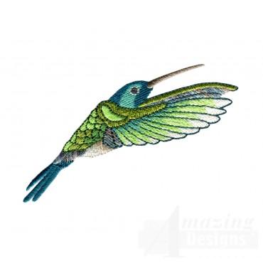 Hummingbird 9 Embroidery Design