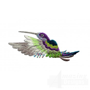 Hummingbird 10 Embroidery Design