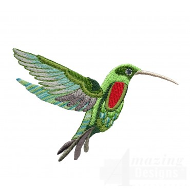 Hummingbird 11 Embroidery Design