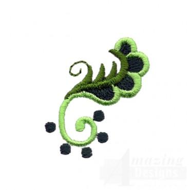 Hummingbird Vine 5 Embroidery Design