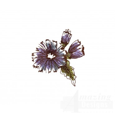 Artists Garden Flower Group 12 Embroidery Design