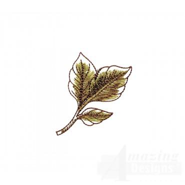 Artists Garden Leaf 5 Embroidery Design