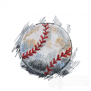Baseball Game Day Embroidery Design