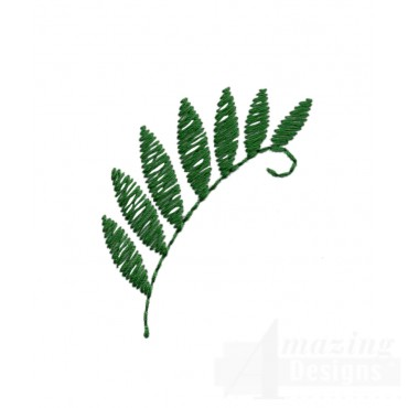 Fern Embroidery Design