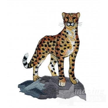 Cheetah Serengeti Pride Embroidery Designcheeta