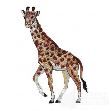 Giraffe Serengeti Pride Embroidery Design