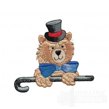Fancy Bear My Circus Book Embroidery Design
