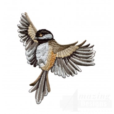 Swnss219 Chickadee Symphony Embroidery Design