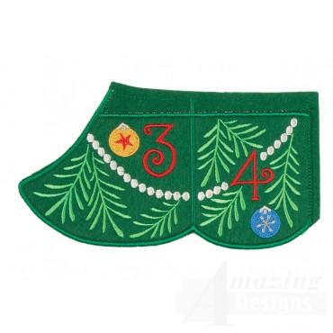 3 And 4 Advent Christmas Tree