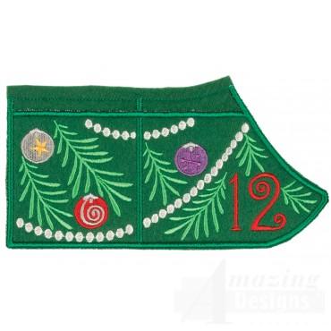 12 Advent Christmas Tree