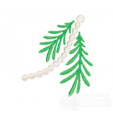 Garland And Bough 2 Advent Christmas Tree