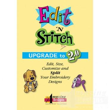 Upgrade to Edit 'N Stitch 2.0