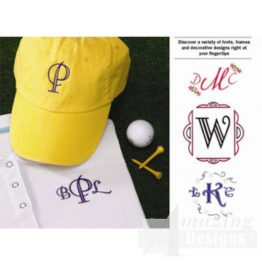 Monogrammed Hat and shirt