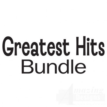The Greatest Hits Bundle - Over 500 Designs