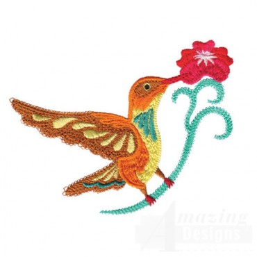 Jacobean Hummingbird 4