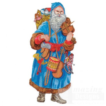 Santa W/drum