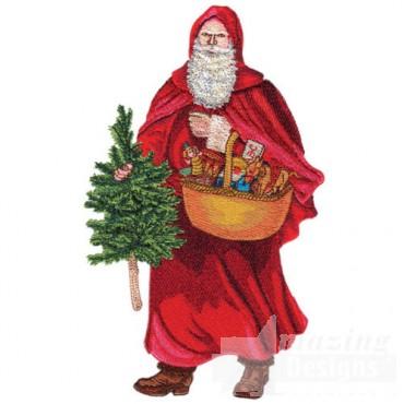 Santa W/basket