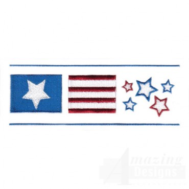 Stars And Stripes Border