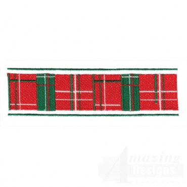 Holiday Plaid Border