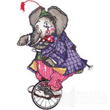 Elephant On Unicycle