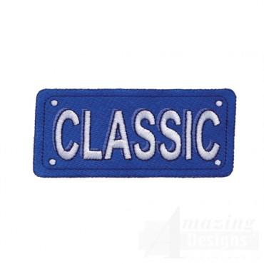 Classic License Plate