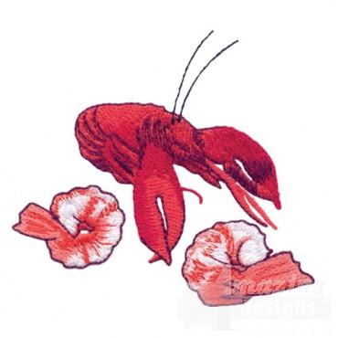 Crawdad And Shrimp