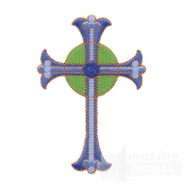Stained Glass Cross