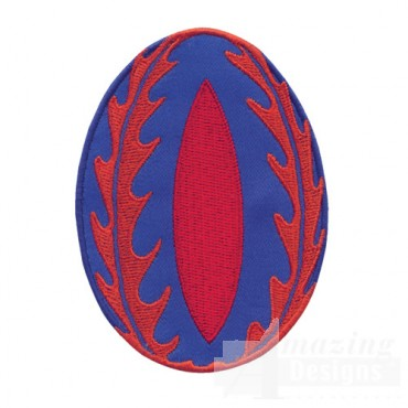 Applique Easter Egg 5