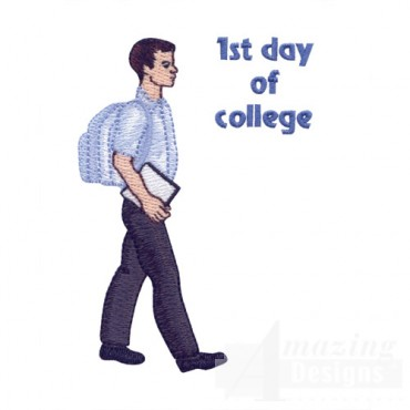 1st Day Of College