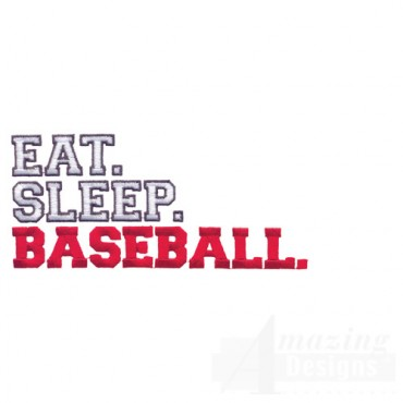 Eat Sleep Baseball