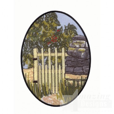 Scenic Garden Gate
