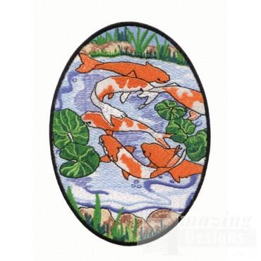 Scenic Coi Fish