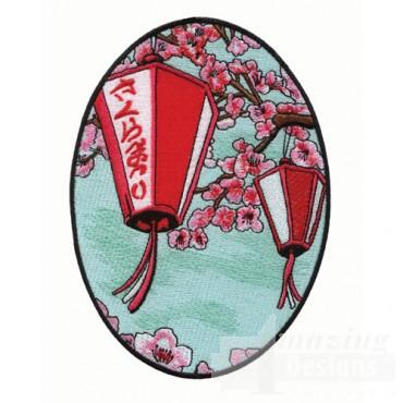 Scenic Japanese Lanterns
