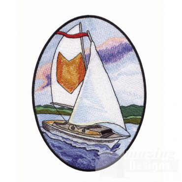 Scenic Sailboat
