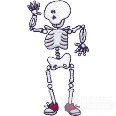 Waving Skeleton
