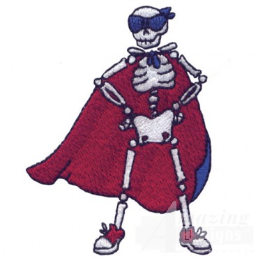 Super Hero Skeleton