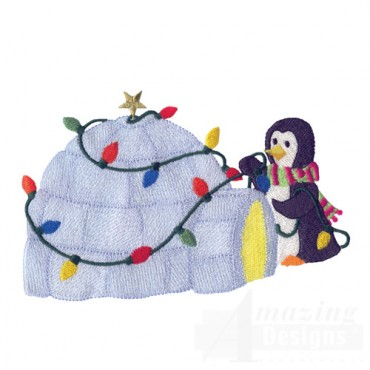 Penguin And Igloo