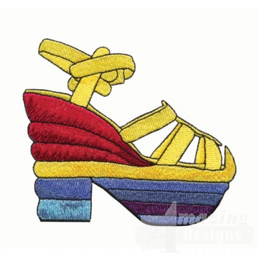Retro Platform Sandal