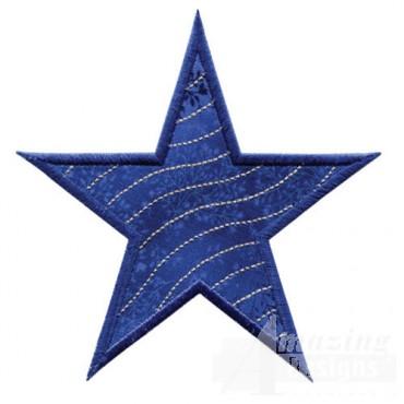 Applique Quilting Stars