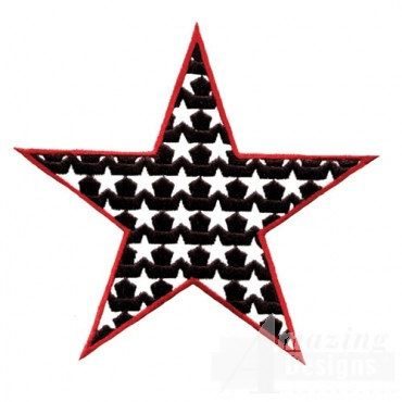 4 Inch Negative Fill Star