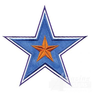 4 Inch Peek A Boo Filled Star