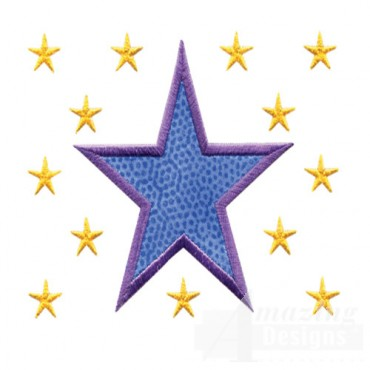 3 Inch Sprinkle Filled Stars 2