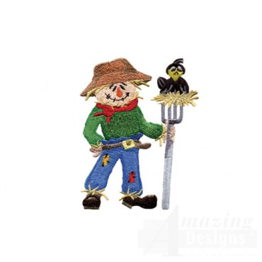 Scarecrow With Pitchfork