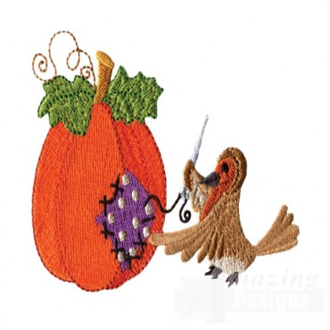 Sewing Pumpkin